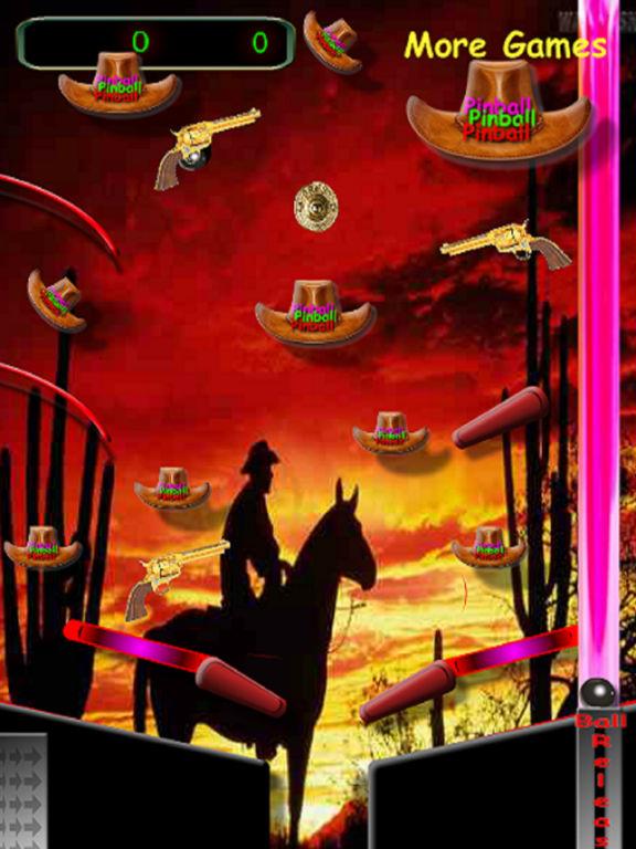 3D Black Jack Cowboy Pinball Screenshots