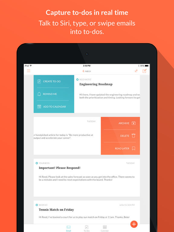 Handle: To-do List, Inbox, and Calendar Management all in one Screenshot