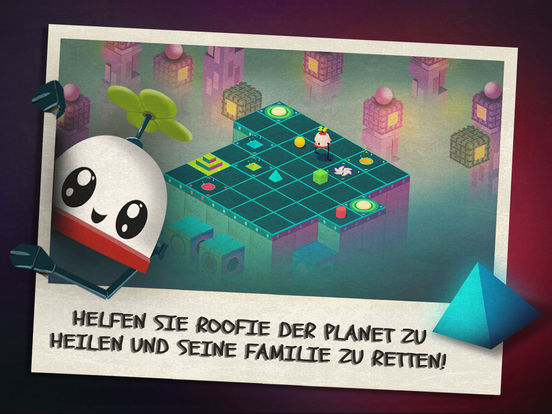 Roofbot: Puzzler On The Roof iOS Screenshots