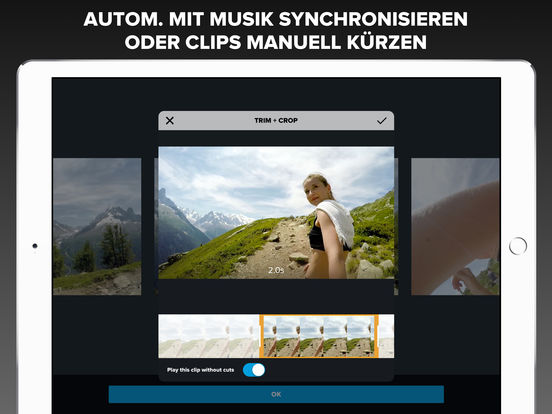 Quik Videobearbeiter – Videos mit Fotos, Musik Screenshot