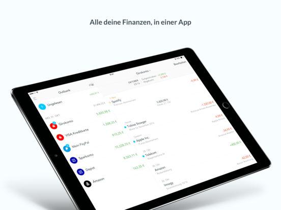 Outbank – Banking für alle Konten in einer App Screenshot