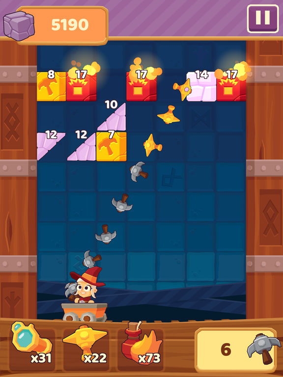 Screenshot 2 Charming Runes - Endless Arcade Block Breaker
