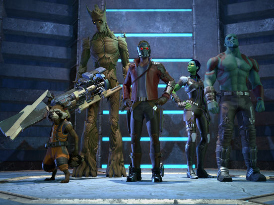 Guardians of the Galaxy TTG iOS Screenshots
