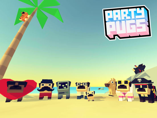 Party Pugs: Beach Puzzle GO! iOS Screenshots