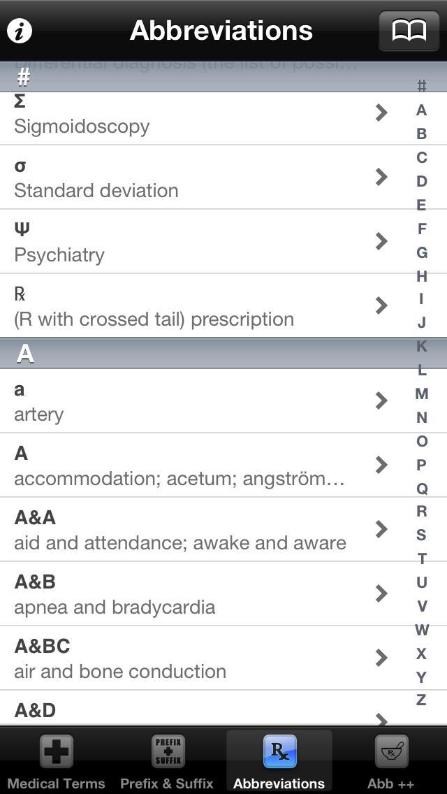 Medical Terms, Termin... screenshot1