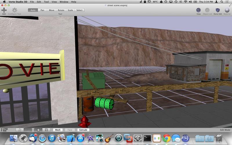 2015年4月13日Macアプリセール 3Dモデリングプログラムツール「Verto Studio 3D」が値下げ!