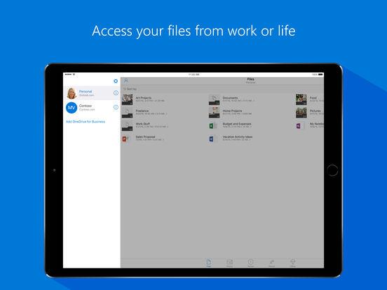 Microsoft OneDrive - ファイルと写真向けのクラウド ストレージ Screenshot