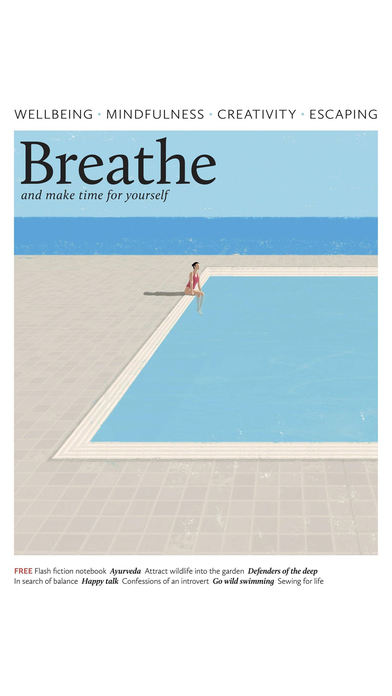 Breathe Magazine. screenshot1