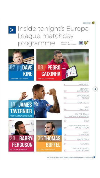 Rangers FC Digital Pr... screenshot1