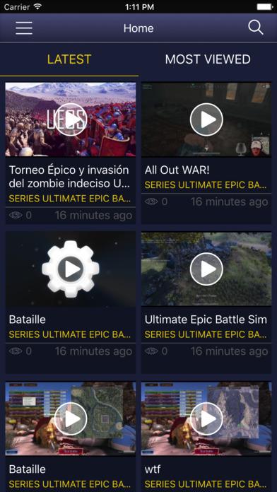 Screenshot for GameNet for - UEBS Ultimate Epic Battle Simulator in Japan App Store