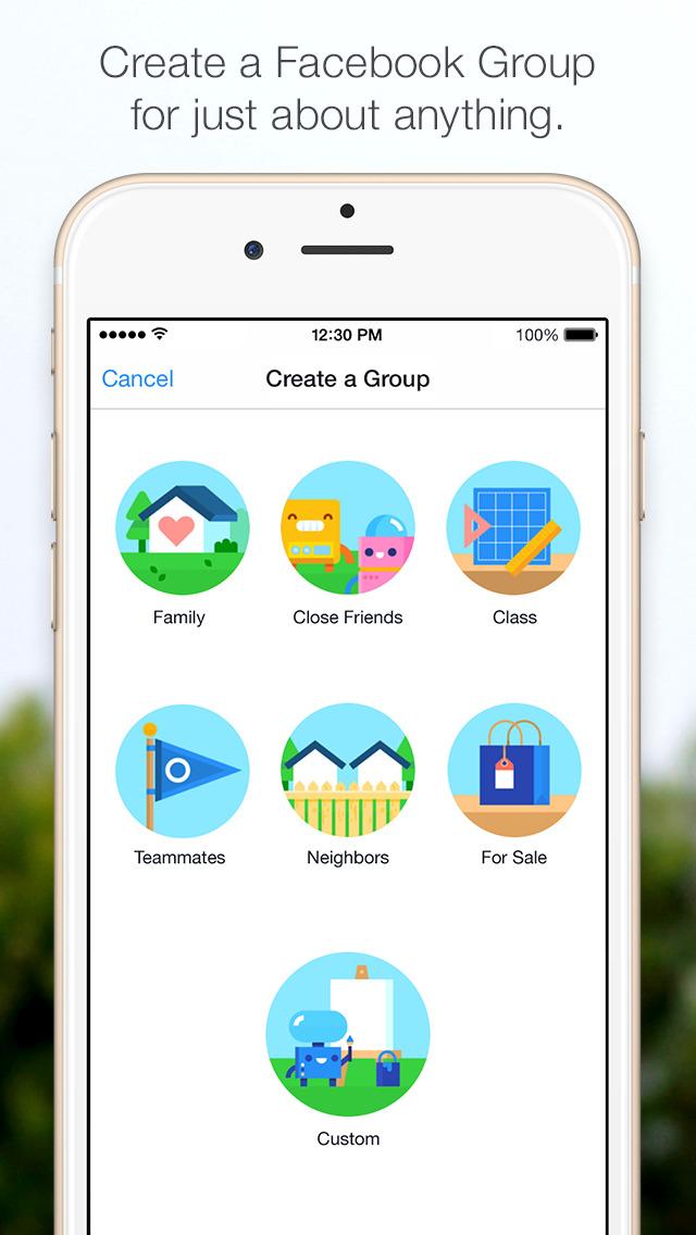Facebook Groups screenshot1