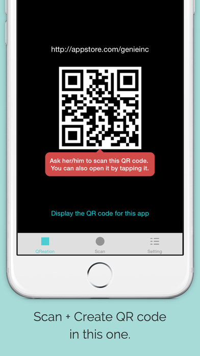 qreation qr code generator scanner for apple watch iphone ipad on the app store. Black Bedroom Furniture Sets. Home Design Ideas