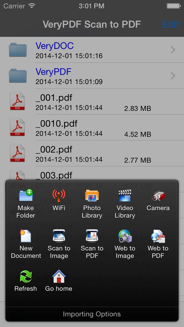 2014年1月11日iPhone/iPadアプリセール 簡易的スキャナーアプリ「VeryPDF Scan to PDF」が無料!