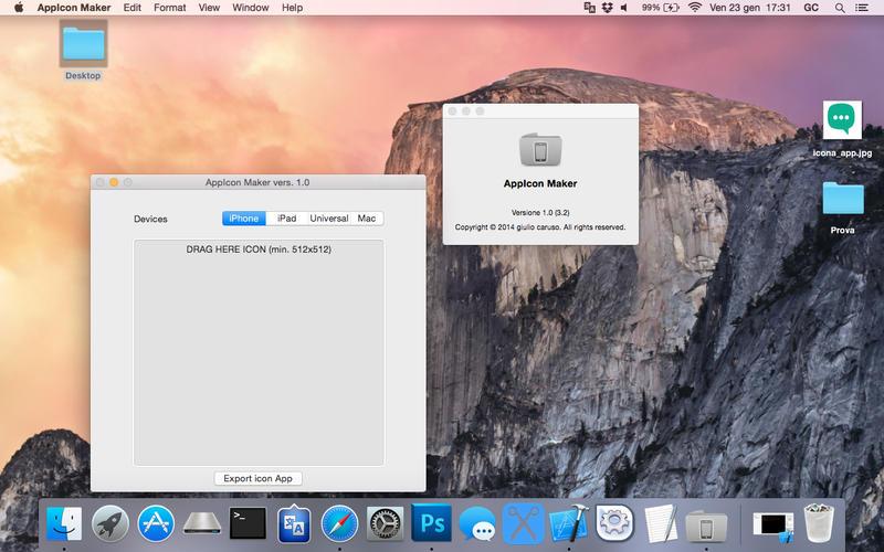 2015年3月21日Macアプリセール アプリアイコン制作ツール「AppIcon Maker for Xcode」が値下げ!