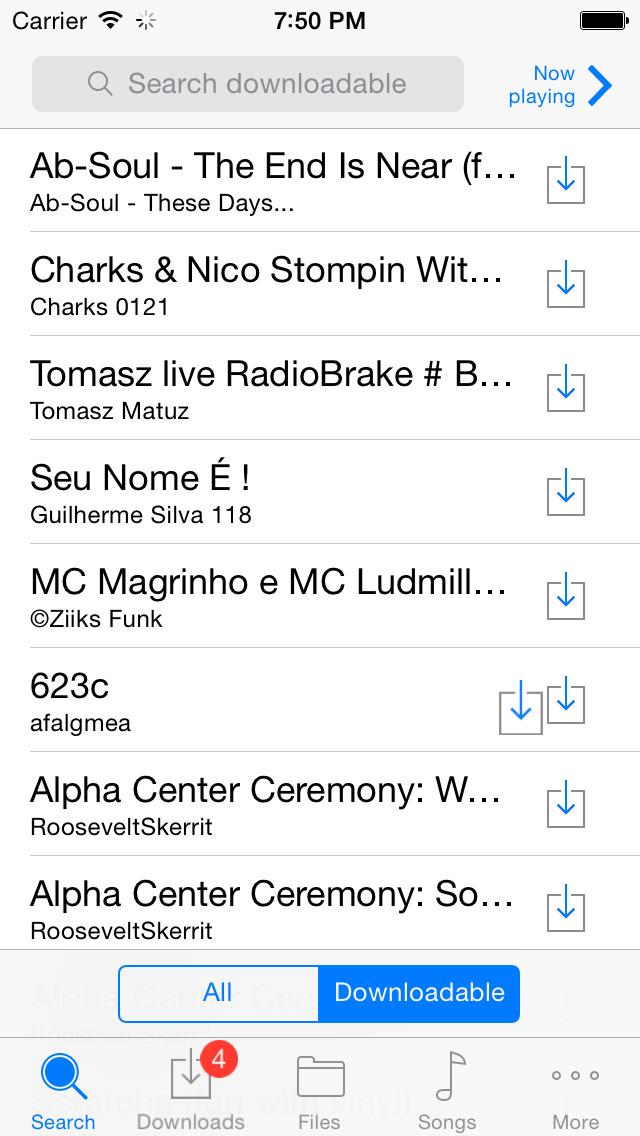 無料ミュージックをダウンロード. ダウンローダー で音楽聴き放題ミュージックプレイヤー SoundCloud®のおすすめ画像1