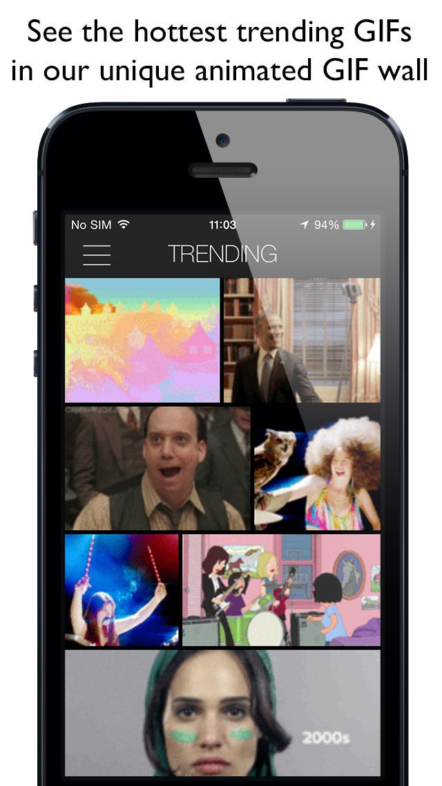 2015年11月27日iPhone/iPadアプリセール GIF画像検索・共有アプリ「getGIF」が無料!