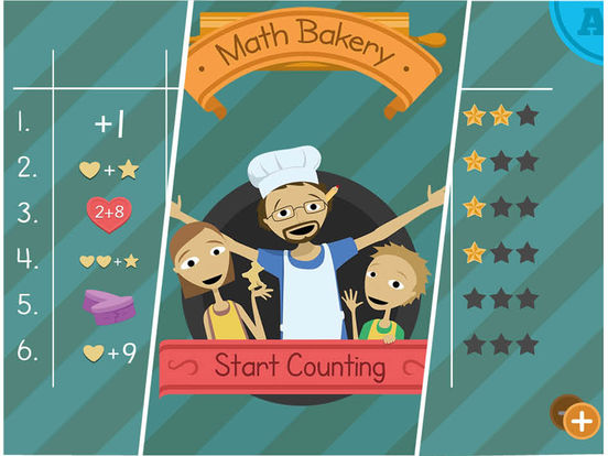 Math Bakery 1 - Start Counting