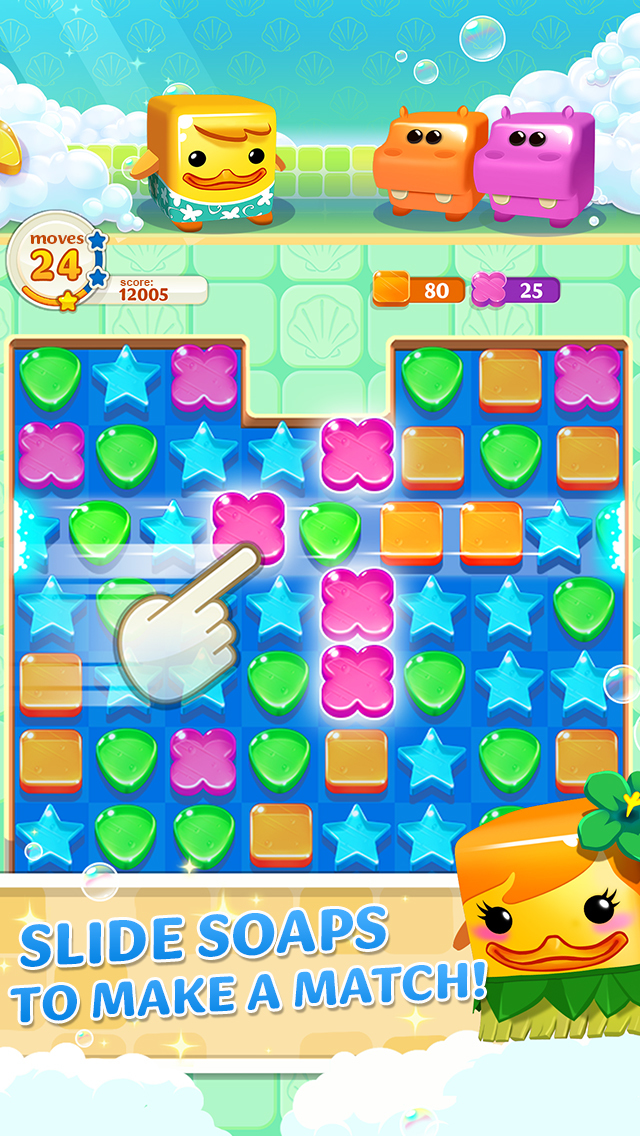 Scrubby Dubby Saga iOS Screenshots
