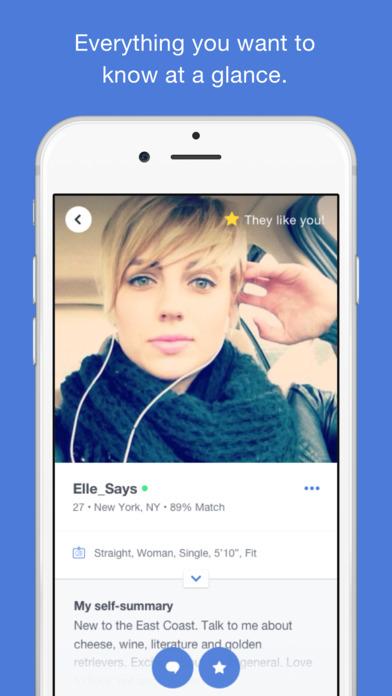 OkCupid Dating Screenshots