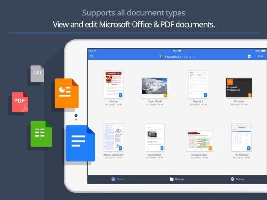 Polaris Office 2017 - Docs editor, PDF reader Screenshots