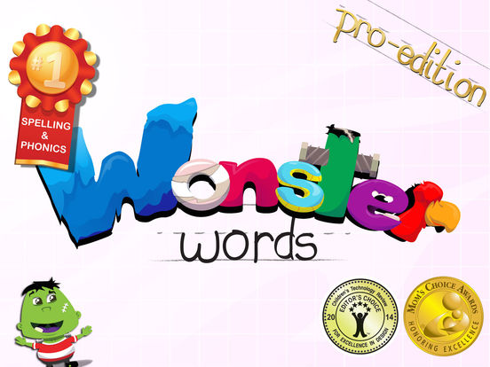 Wonster Words (Pro Edition) spelling, ABC, phonics Screenshots