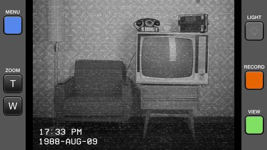 VHS Camera Screenshots