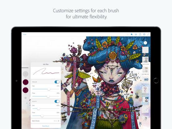 Adobe Photoshop Sketch Screenshots