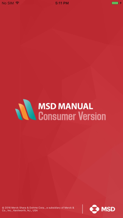 MSD Consumer Version Screenshots