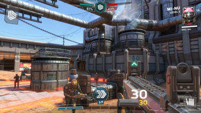 Modern Combat Versus: Online Multiplayer FPS iOS Screenshots