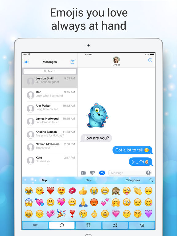 Emoji Keyboard for Me - Free Emoji Keyboard Themes Screenshots