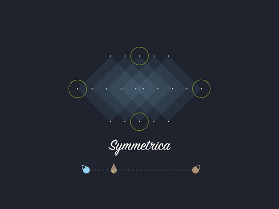 Symmetrica - Minimalistic arcade game Screenshots