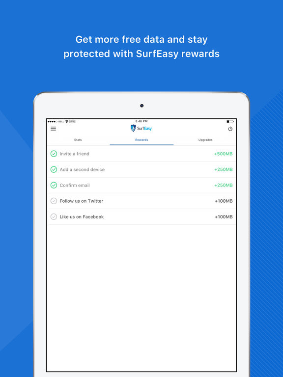 VPN by SurfEasy - Free WiFi Privacy & Security Screenshots