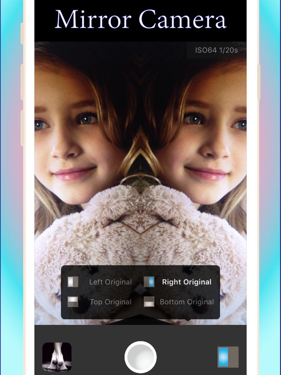 finetune+_Manual/Mirror camera with awesome filter Screenshots