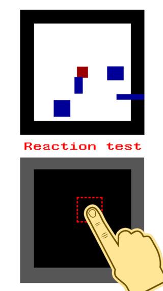 Reaction Test Game Screenshots