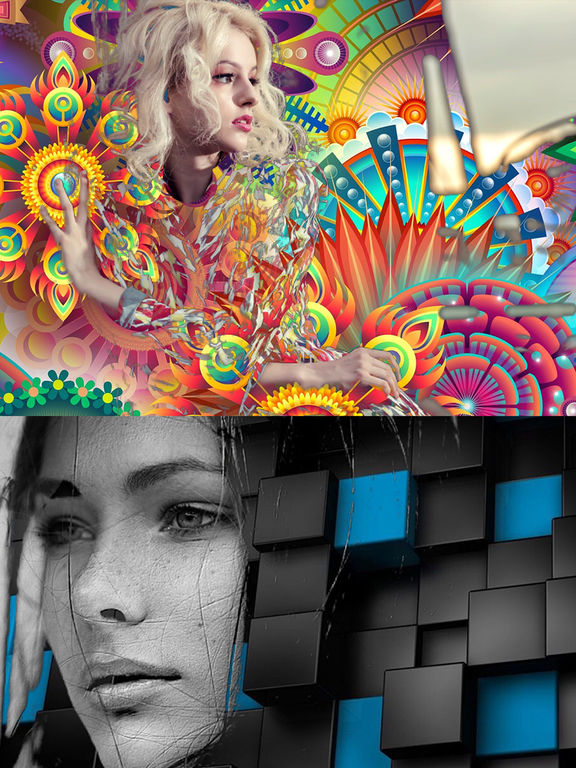Abstract Me Screenshots