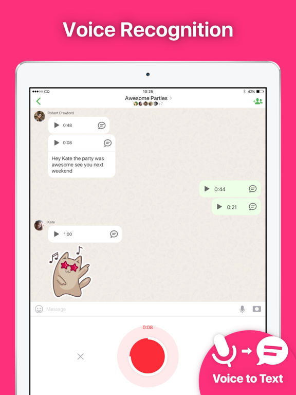 ICQ — Free Video Call, Chat and Voice Screenshots