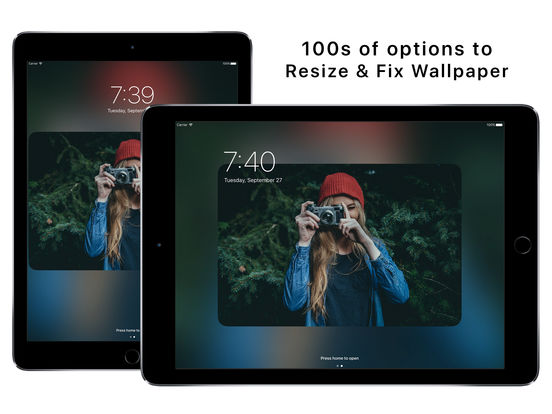 Wallax - Wallpaper Fix Editor and Wallpaper Maker Screenshots