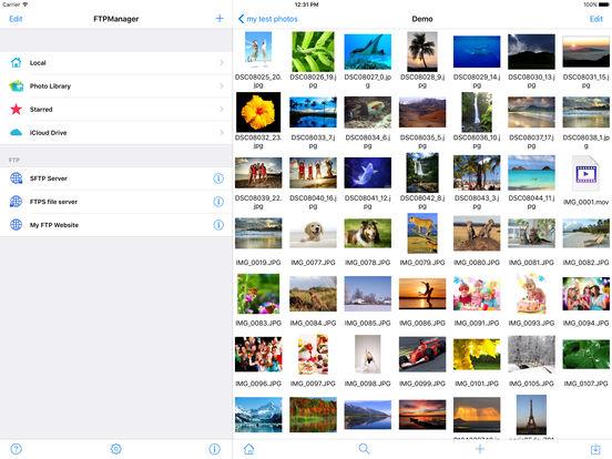 FTPManager Pro - FTP, SFTP, FTPS client Screenshots