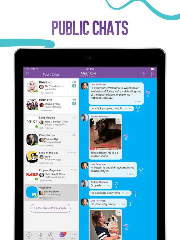 Viber Screenshots