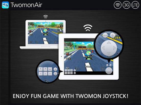 TwomonAir - Dual monitor, PC remote control Screenshots