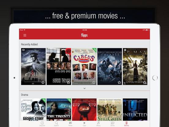 Flipps - Movies, Music & News on TV Screenshots