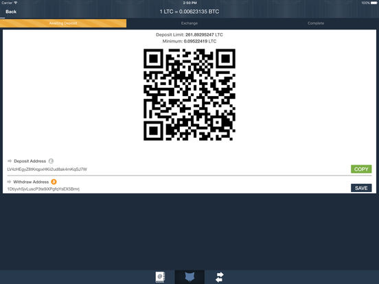 ShapeShift - Instant Crypto Converter Screenshots