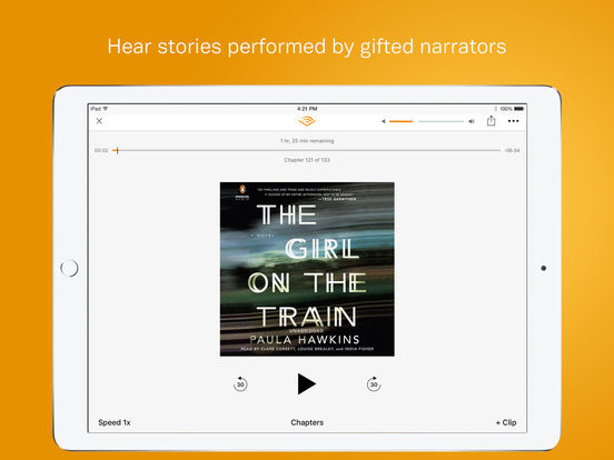 Audiobooks from Audible Screenshots