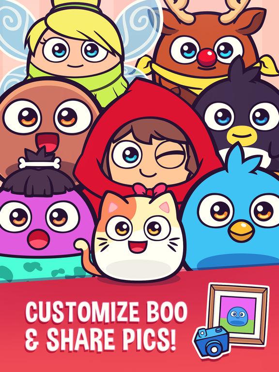 My Boo - Pocket Buddy to Play, Care, Dress & Feed Screenshots