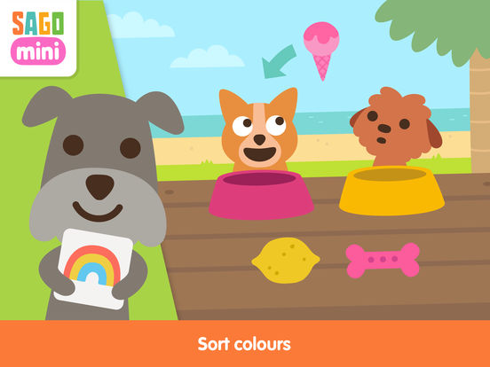 Sago Mini Puppy Preschool Screenshots