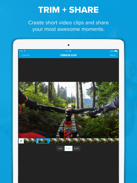 Capture - Control Your GoPro Camera - Share Video Screenshots