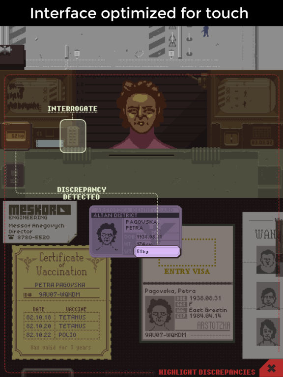 Papers, Please Screenshots