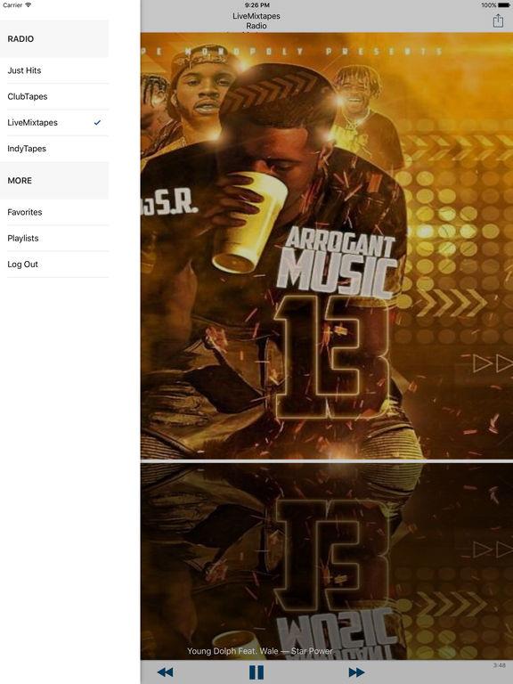 LMT Radio Screenshots