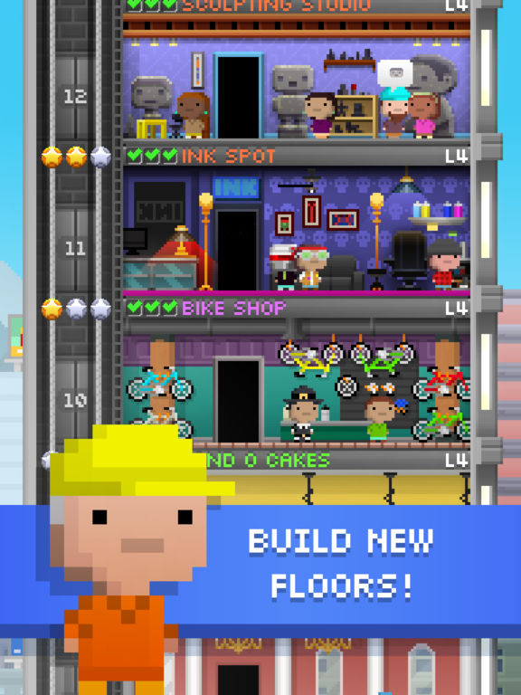 Tiny Tower - Free City Building Screenshots