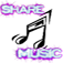 Share Music on Social Network